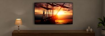 Zaslon televizora sa svjetlinom prilagođenom okruženju