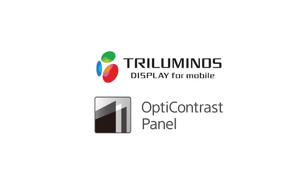 Logotip zaslona TRILUMINOS i OptiContrast