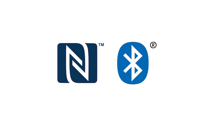 Logotipi NFC™ i Bluetooth®
