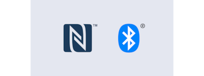 Logotipi za NFC i Bluetooth