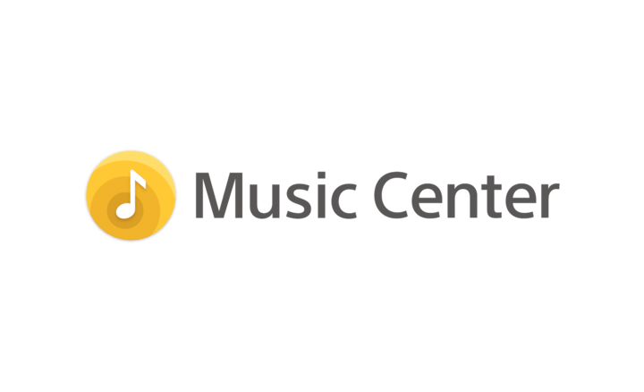 Logotip aplikacije Sony | Music Center.