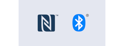 Logotipi NFC i BLUETOOTH®