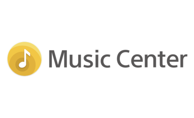 Logotip aplikacije Sony Music Center