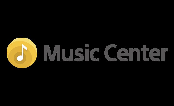 Logotip aplikacije Sony | Music Center