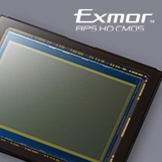 24,3 MP Exmor APS HD CMOS sensor
