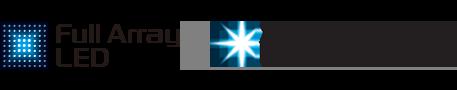 Logotipi za Full Array LED i X-tended Dynamic Range